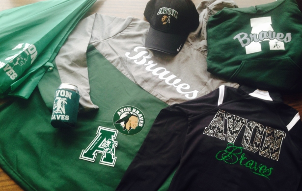 School Logo Apparel and Stickers