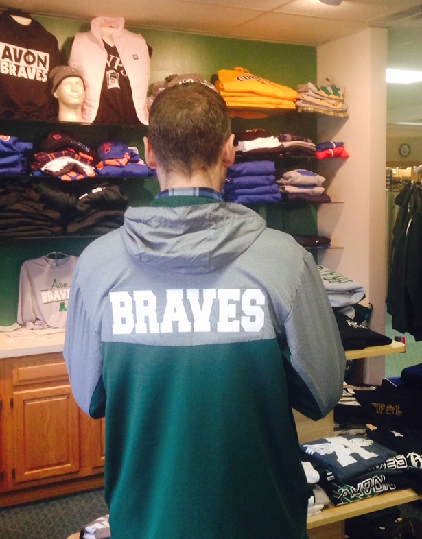 School Team Jacket Braves