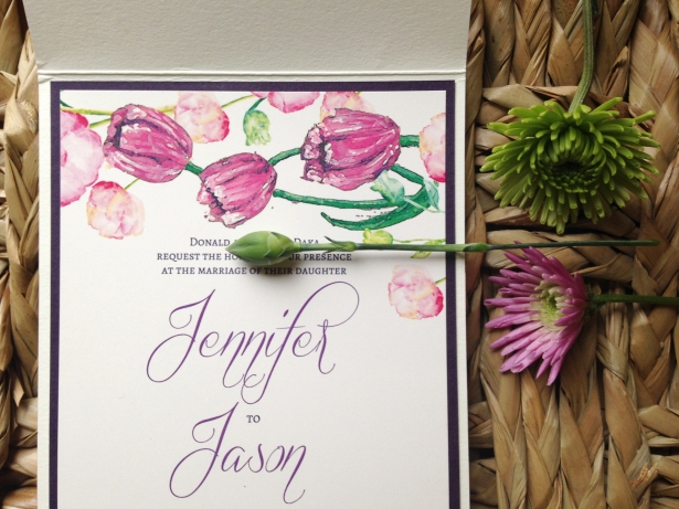 Spring Invitations Jen & Jason 5