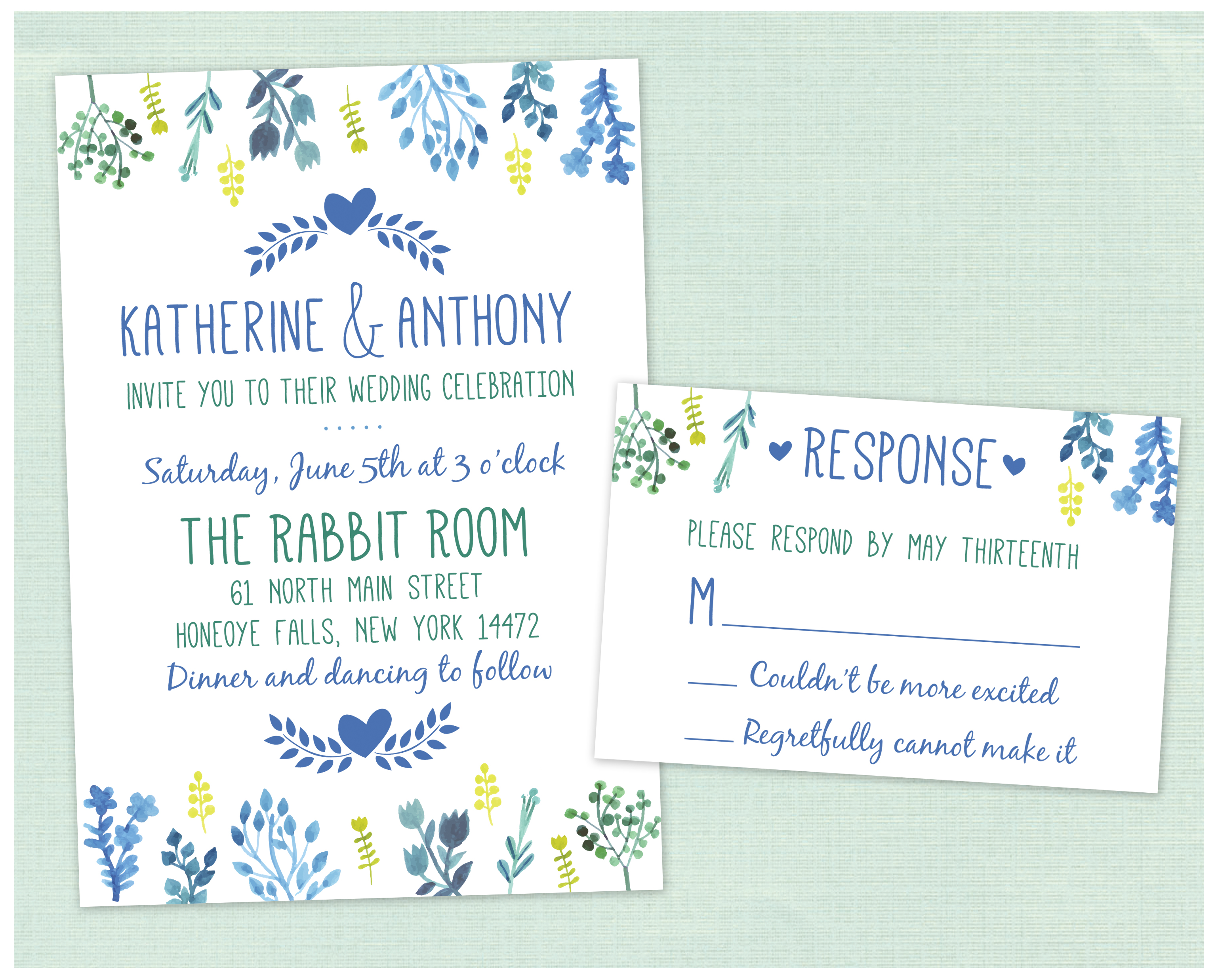 Spring Wedding – PRINTING by Penny Lane
