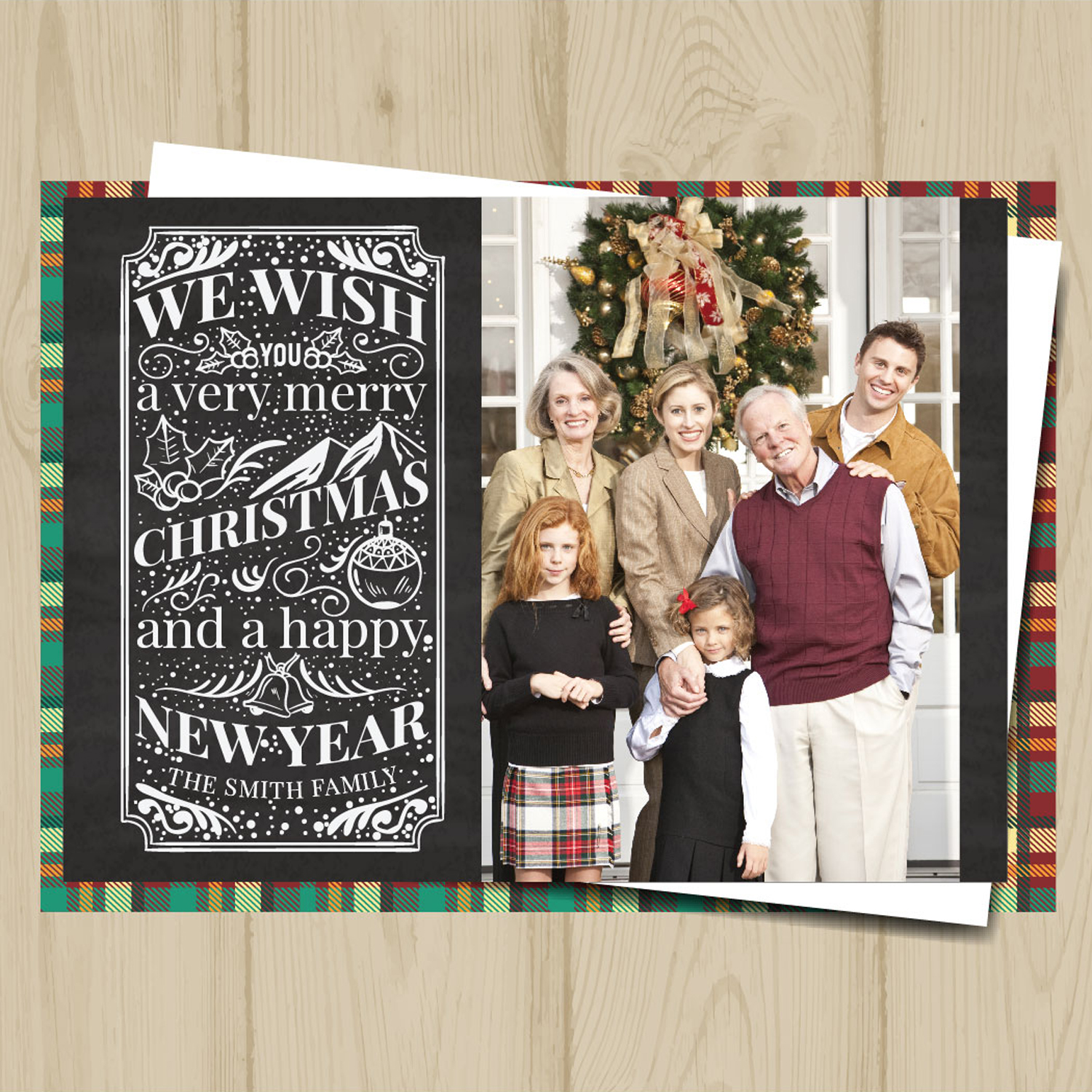 personalized christmas cards – PRINTING by Penny Lane