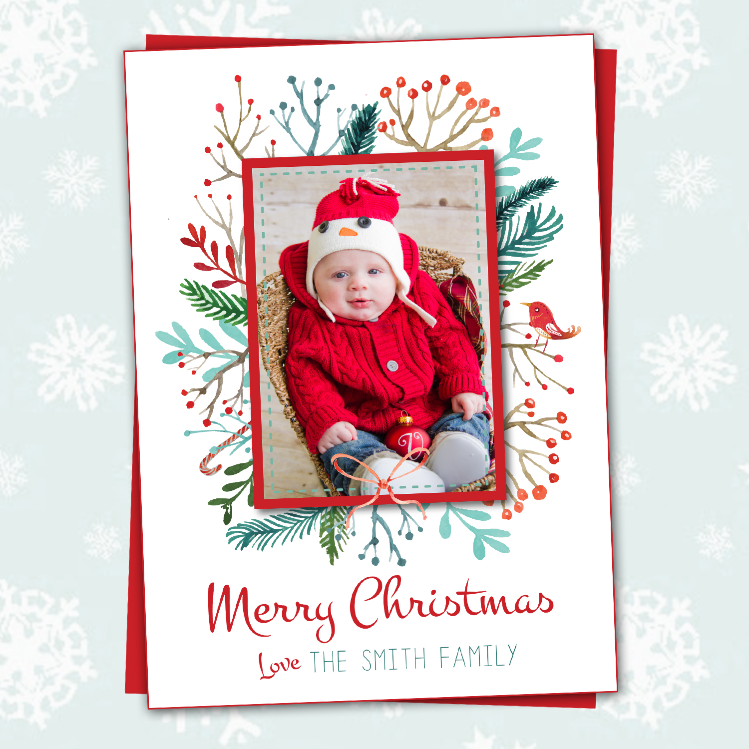 A Wonderful Tradition Holiday Greeting Cards Printing By Penny Lane