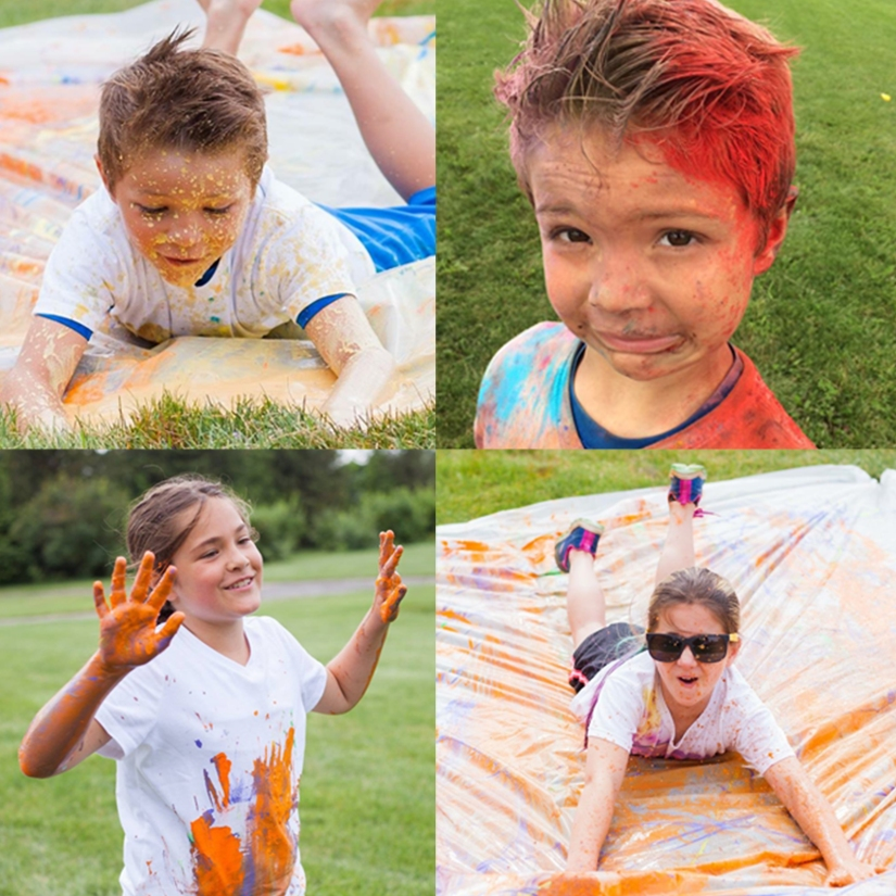 Color Fun Run Birthday