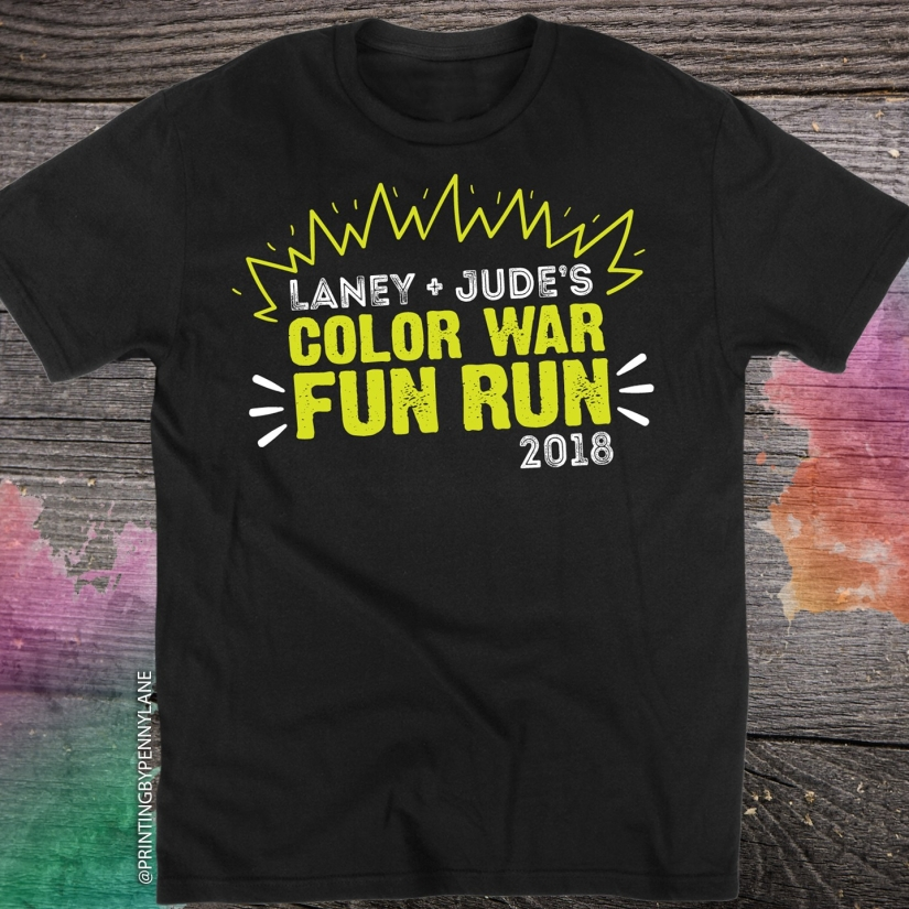 Color War Fun Run TShirt