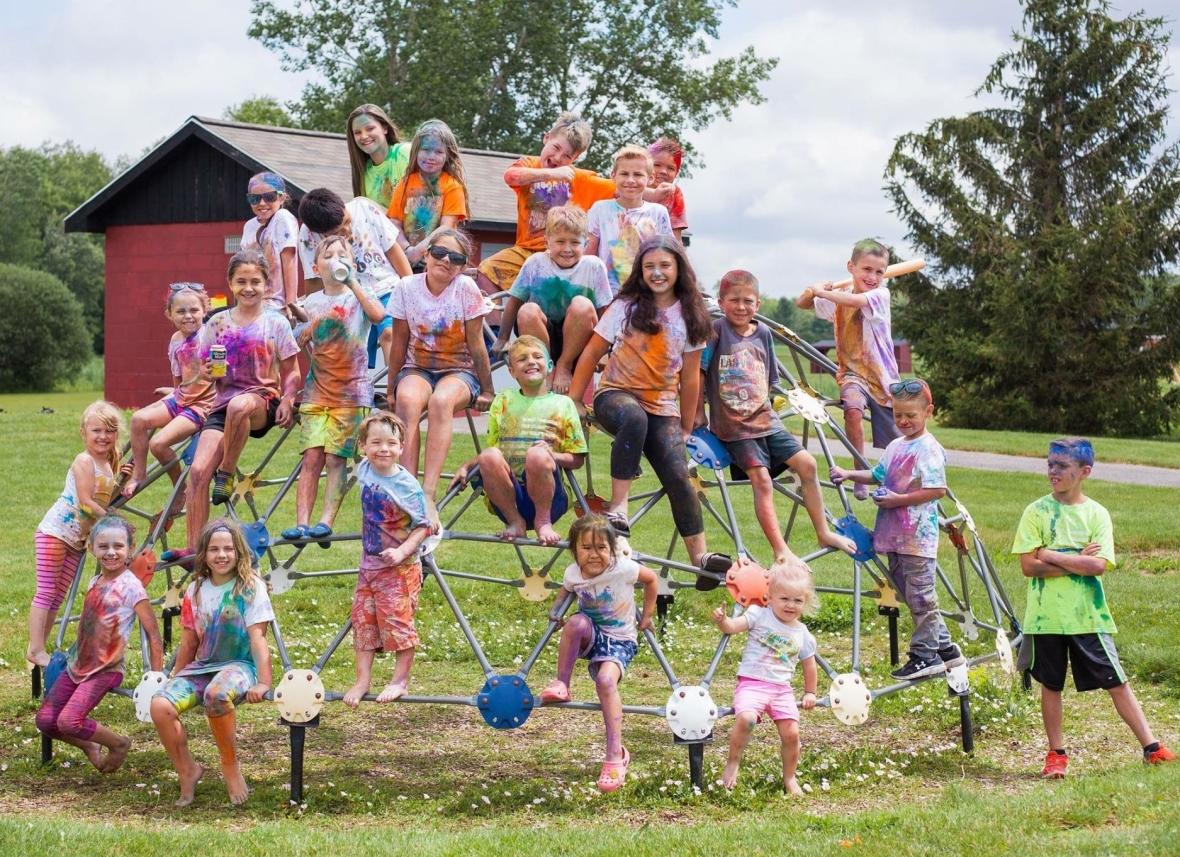 Color War Birthday party