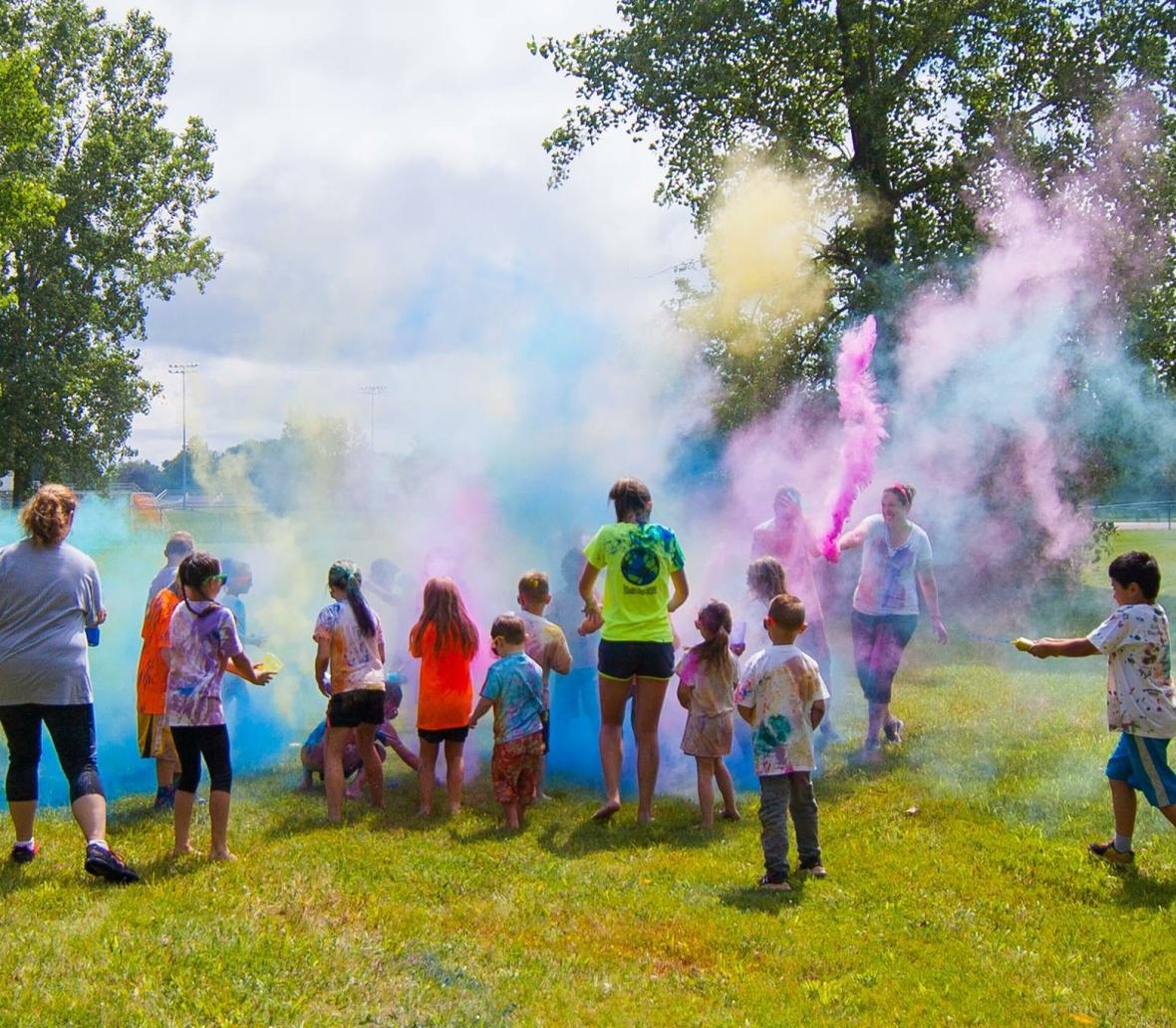 Color Run Birthday Party