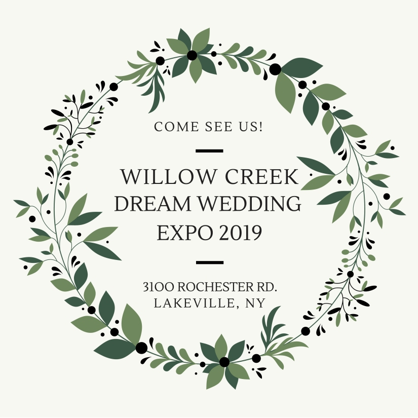 Dream Wedding Expo-02 Save the Date 2019 Dream Wedding Expo at Willow Creek #WeddingsINLivingston